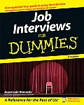Job Interviews For Dummies 3rd Edition