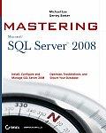 Mastering SQL Server 2008