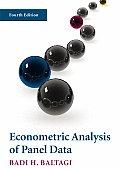 Econometric Analysis of Panel Data (4TH 08 Edition)