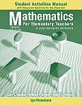 Mathematics for Elementary Teachers - Student Act. Man (9TH 11 - Old Edition)