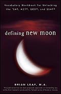 Defining New Moon Vocabulary Workbook