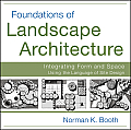 Foundations Of Landscape Architecture Integrating Form & Space Using The Language Of Site Design