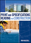 Print & Specifications Reading For Construction With Cdrom
