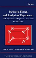 Statistical Design & Analysis of Experiments With Applications to Engineering & Science