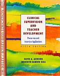 Clinical Supervision & Teacher Development Preservice & Inservice Applications