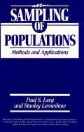Sampling Of Populations Methods & Appl