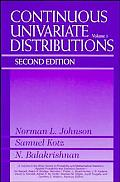 Continuous Univariate Distributions, Volume 1
