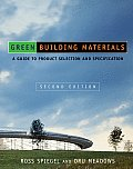 Green Building Materials A Guide to Product Selection & Specification