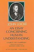 Essay Concerning Human Understanding Volume 1