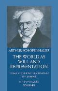 World as Will & Representation Volume 1
