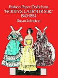 Fashion Paper Dolls from Godeys Ladys Book 1840 1854
