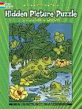 Hidden Picture Puzzle Coloring Book
