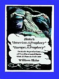 Blakes America A Prophecy & Europe A Prophecy Facsimile Reproductions of Two Illuminated Books