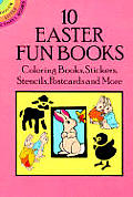 10 Easter Fun Books Coloring Books Stick