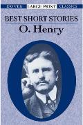 Best Short Stories of O Henry Large Print