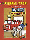 Firefighters Coloring Book