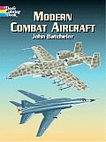 Modern Combat Aircraft Coloring Book