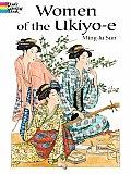 Women Of The Ukiyo E Coloring Book