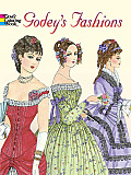 Godeys Fashions Coloring Book