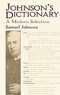 Johnsons Dictionary A Modern Selection