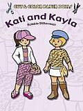 Cut & Color Paper Dolls Kati & Kayla