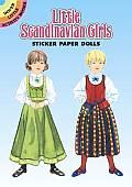 Little Scandinavian Girls Sticker Paper Dolls