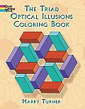 Triad Optical Illusions Coloring Book