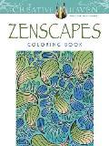 Creative Haven Zenscapes Coloring Book