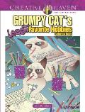 Creative Haven Grumpy Cats Least Favorite Hobbies Coloring Book