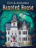 Cut & Assemble Haunted House Easy To Make Paper Model