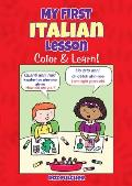 My First Italian Lesson Color & Learn