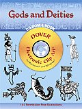 Gods & Deities Cdrom & Book