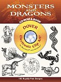 Monsters and Dragons CD-ROM and Book [With CDROM]
