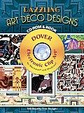 Dazzling Art Deco Designs Cd Rom & Book