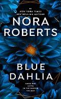 Blue Dahlia In The Garden 01