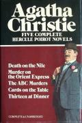 Five Complete Hercule Poirot Novels: Death on the Nile / Murder on the Orient Express / The ABC Murders / Cards on the Table / Thirteen at Dinner