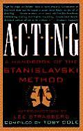 Acting A Handbook Of The Stanislavski Method