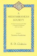 Mediterranean Society The Jewish Communities of the Arab World as Portrayed in the Documents of the Cairo Geniza Volume 1 Economic Foundatio