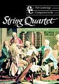Cambridge Companion to the String Quartet