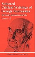 Selected Critical Writings Vol 2