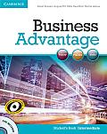 Business Advantage Intermediate Students Book With Dvd