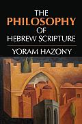 Philosophy of Hebrew Scripture An Introduction