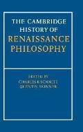 Camb Hist of Renaissance Philosophy