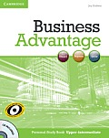 Business Advantage Personal Study Book: Upper-Intermediate [With CDROM]