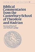 Biblical Commentaries from the Canterbury School of Theodore & Hadrian