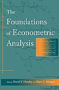 Foundations of Econometric Analysis