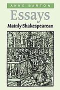 Essays, Mainly Shakespearean