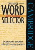 Cambridge Word Selector Ingles Espanol