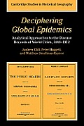 Deciphering Global Epidemics: Analytical Approaches to the Disease Records of World Cities, 1888-1912