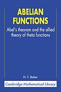 Abelian Functions Abels Theorem & The Al